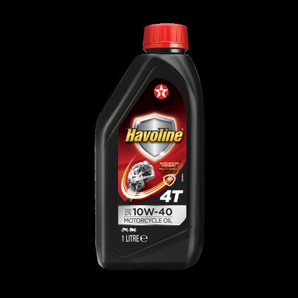 Havoline 4T Motorcycle Oil SAE 10W-40 1L